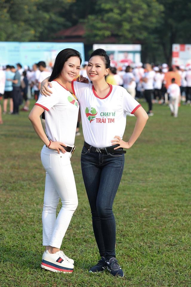 Lương Nguyệt Anh, MC Mỹ Vân chạy ủng hộ trẻ em bị bệnh tim - Ảnh 6.
