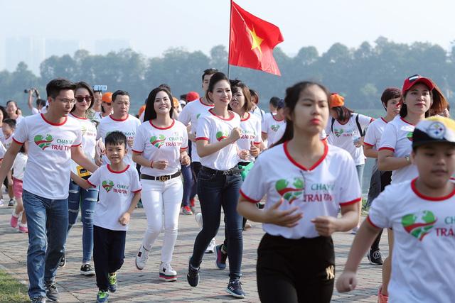 Lương Nguyệt Anh, MC Mỹ Vân chạy ủng hộ trẻ em bị bệnh tim - Ảnh 7.