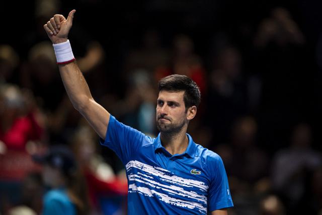 ATP Finals 2019: Djokovic thắng áp đảo Berrettini trong trận ra quân - Ảnh 1.