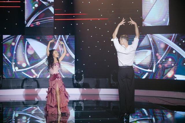 Đoan Trang và trai đẹp Bước nhảy hoàn vũ tái hợp trong 60 phút rực rỡ - Ảnh 1.