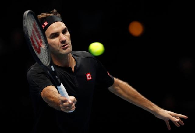 ATP Finals 2019: Roger Federer thất bại trước Dominic Thiem - Ảnh 1.