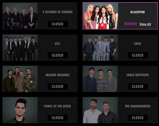 BlackPink bất ngờ thắng lớn tại People's Choice Awards 2019 - Ảnh 1.