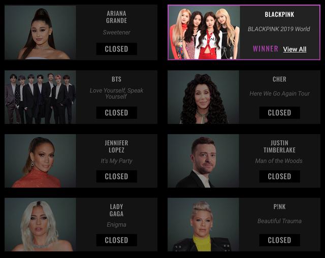 BlackPink bất ngờ thắng lớn tại People's Choice Awards 2019 - Ảnh 3.
