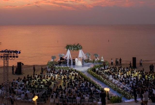 Bật mí hậu trường đám cưới siêu sang của Đông Nhi – Ông Cao Thắng tại Vinpearl Phú Quốc - Ảnh 3.