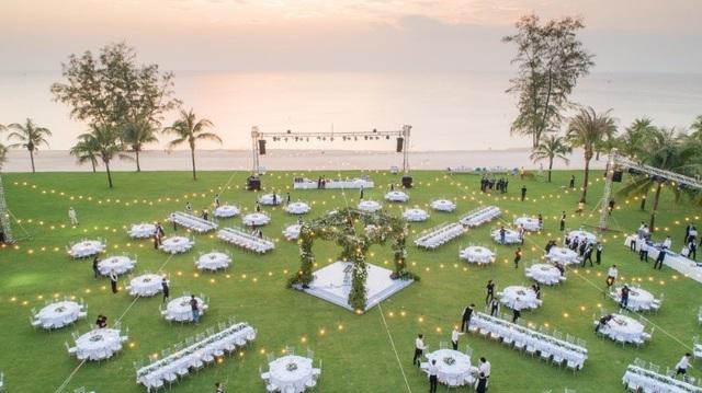 Bật mí hậu trường đám cưới siêu sang của Đông Nhi – Ông Cao Thắng tại Vinpearl Phú Quốc - Ảnh 4.