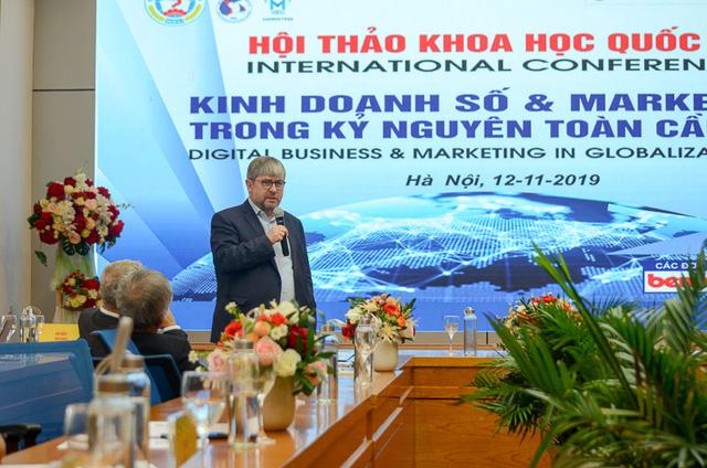 Hội thảo khoa học quốc tế: Kinh doanh số và marketing trong kỷ nguyên toàn cầu hóa - Ảnh 1.