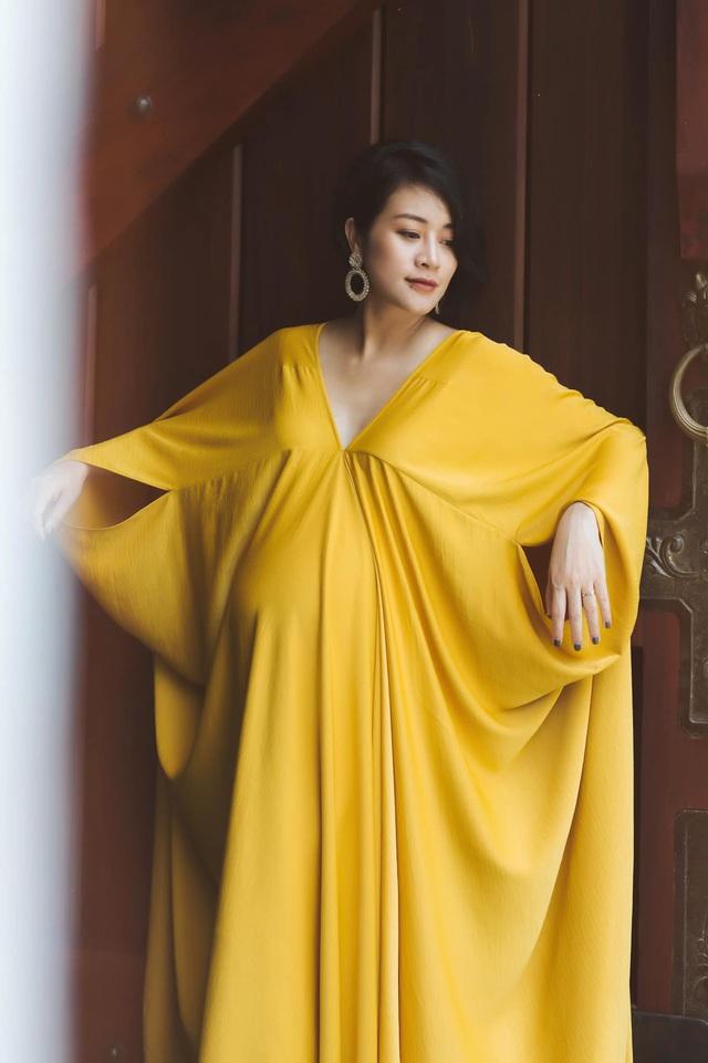 MC Phí Linh thấy thật vĩ đại khi mang bầu - Ảnh 12.