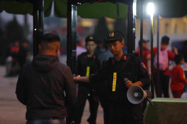 Thắt chặt an ninh trước thềm trận đấu ĐT Việt Nam - ĐT UAE - Ảnh 11.