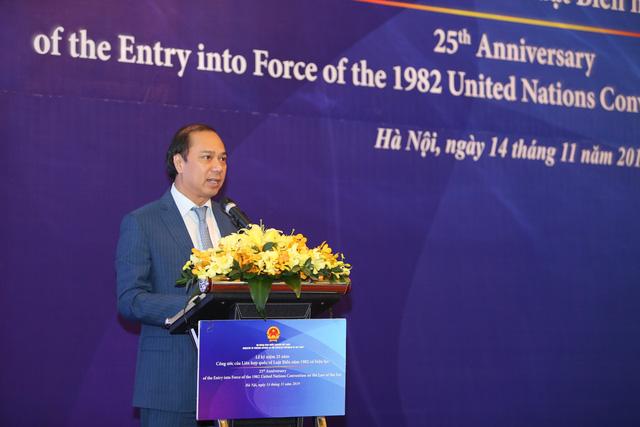 25 năm Công ước của LHQ về Luật biển năm 1982 có hiệu lực - Ảnh 1.