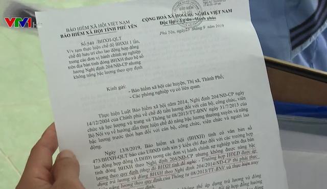 Xét xử phúc thẩm vụ chấm dứt hợp đồng lao động với 11 giáo viên ở Phú Yên - Ảnh 2.