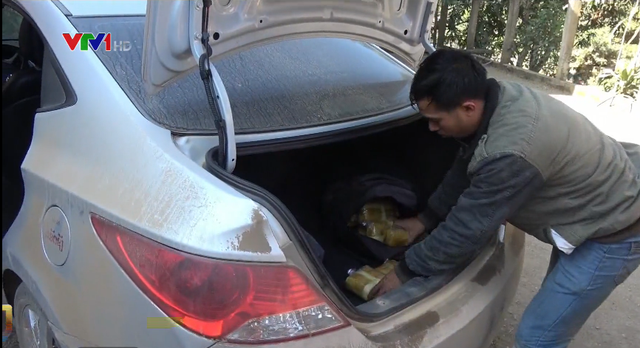 Phát hiện vụ vận chuyển ma túy từ Lào về Việt Nam - Ảnh 1.