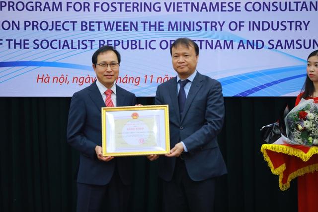 Đào tạo 207 chuyên gia tư vấn Việt trong lĩnh vực cải tiến sản xuất và nâng cao chất lượng doanh nghiệp - Ảnh 4.