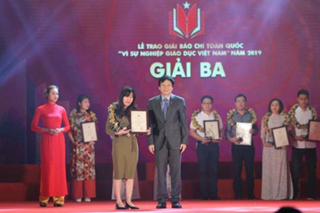VTV giành 4 giải báo chí toàn quốc Vì sự nghiệp giáo dục Việt Nam 2019 - Ảnh 2.