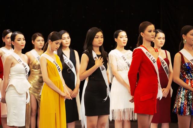 Tôi là Hoa hậu Hoàn vũ 2019 - Tập 7: Thúy Vân dẫn đầu, 15 cô gái bị loại - Ảnh 4.