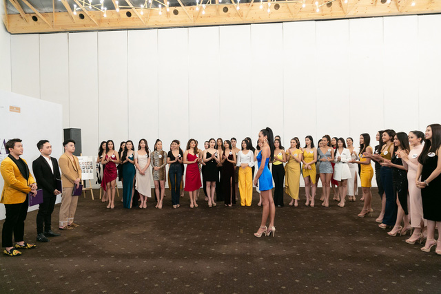 Tôi là Hoa hậu Hoàn vũ 2019 - Tập 7: Thúy Vân dẫn đầu, 15 cô gái bị loại - Ảnh 1.