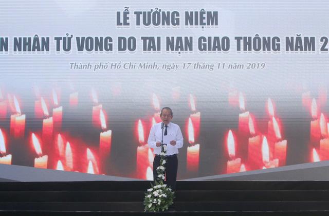 Tưởng niệm nạn nhân tử vong do tai nạn giao thông tại Việt Nam năm 2019 - Ảnh 1.