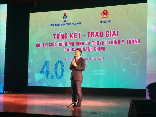 Công đoàn Đài THVN giành giải Ba Hội thi Giới thiệu mô hình và thuyết trình ý tưởng cải cách hành chính - Ảnh 2.