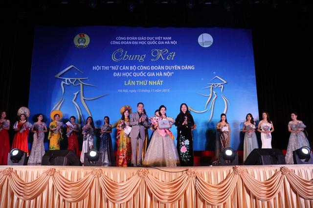 Ấn tượng những BST thời trang trong cuộc thi Nữ cán bộ công đoàn duyên dáng - Ảnh 1.