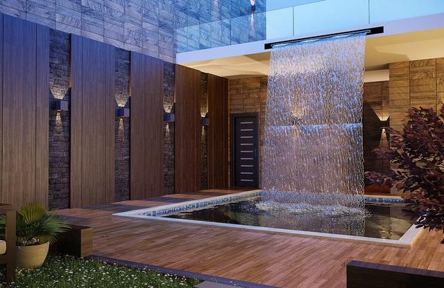 Ngôi nhà phố sở hữu hồ bơi tuyệt đẹp nằm ngay trong nhà - Ảnh 2.