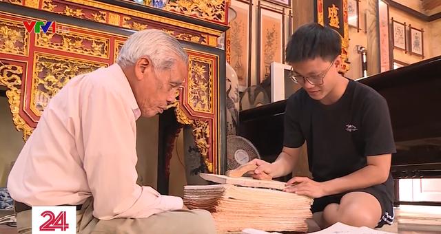 Khó khăn trong bảo tồn nghề tranh Ðông Hồ - ảnh 4