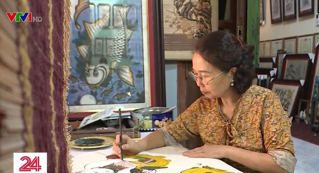 Khó khăn trong bảo tồn nghề tranh Ðông Hồ - ảnh 1