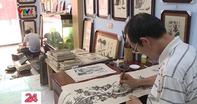 Khó khăn trong bảo tồn nghề tranh Ðông Hồ - ảnh 3
