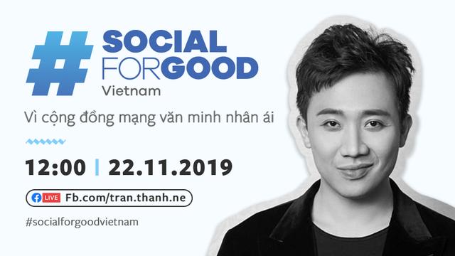 Facebook lần đầu tổ chức #SocialForGood tại Việt Nam: Quy tụ dàn sao khủng - Ảnh 1.