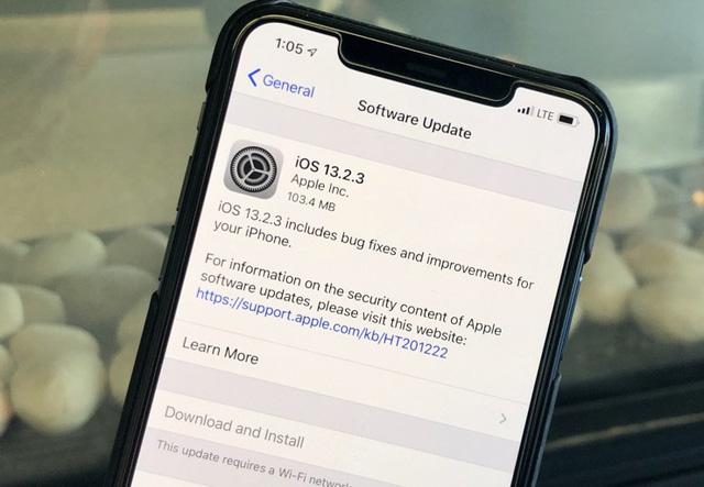 Apple lại phát hành bản cập nhật iOS 13.2.3 - ảnh 1