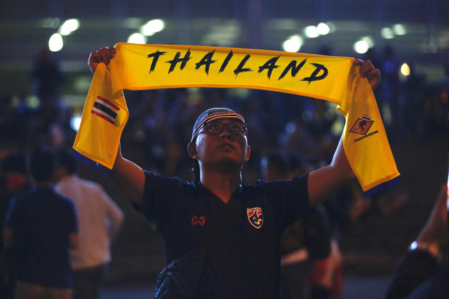 CĐV Thái Lan máu lửa trước trận đấu với ĐT Việt Nam tại Mỹ Đình - Ảnh 2.