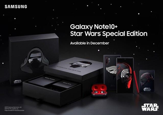 Samsung ra mắt Galaxy Note 10+ phiên bản Star Wars, giá hơn 30 triệu đồng - Ảnh 1.