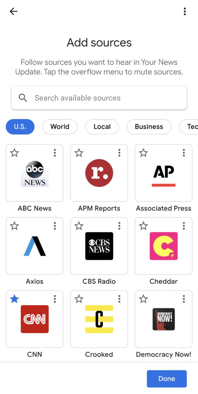 Google Assistant đã có thể cập nhật tin tức theo sở thích của người dùng - Ảnh 1.