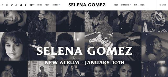 Selena Gomez công bố ngày ra mắt album - Ảnh 1.
