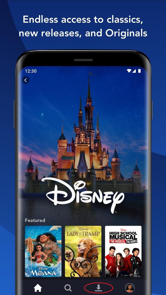 Hướng dẫn xem các chương trình trên Disney + mà không cần kết nối mạng - Ảnh 1.