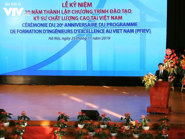 Đại học Xây dựng kỷ niệm 20 năm Chương trình đào tạo kỹ sư chất lượng cao tại Việt Nam - Ảnh 4.