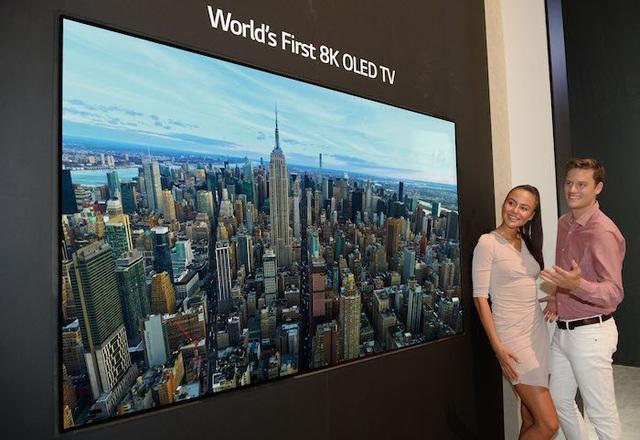 """TV OLED 8K của LG được bình chọn là """"TV của tương lai"""" - Ảnh 1."""