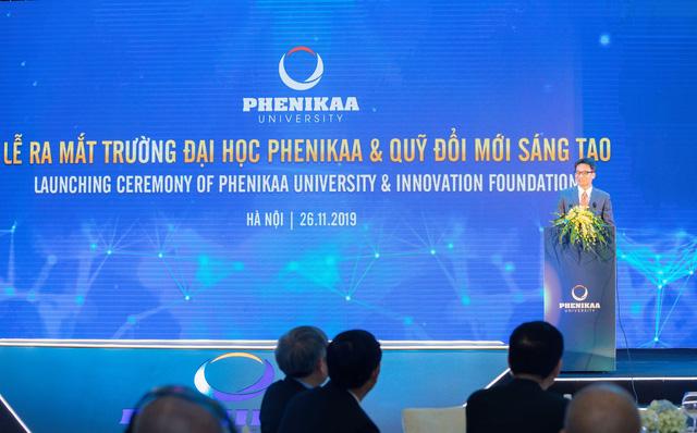 Ra mắt trường Đại học Phenikaa - Ảnh 1.