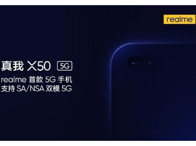 Realme thổi lửa vào cuộc đua smartphone 5G với Realme X50 - Ảnh 1.