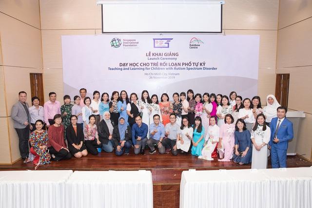Singapore và Việt Nam hợp tác tăng cường chất lượng chương trình Giáo dục đặc biệt dành cho trẻ rối loạn phổ tự kỷ - Ảnh 3.