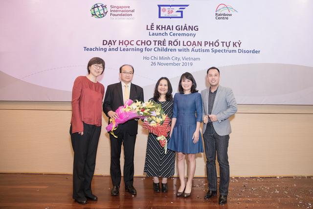 Singapore và Việt Nam hợp tác tăng cường chất lượng chương trình Giáo dục đặc biệt dành cho trẻ rối loạn phổ tự kỷ - Ảnh 1.