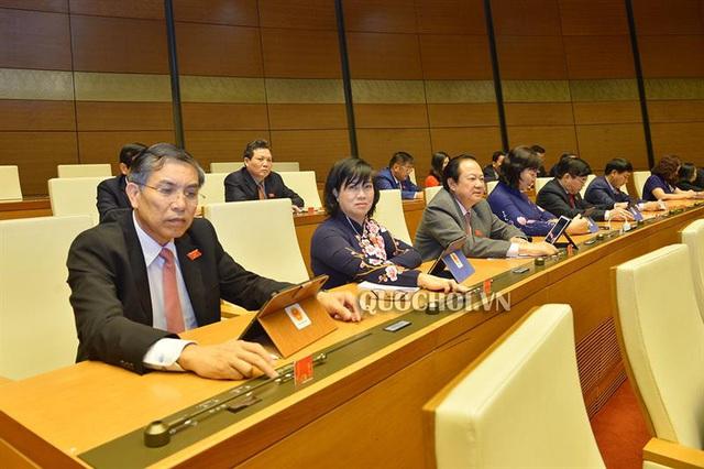 Quốc hội thông qua Dự thảo Nghị quyết thí điểm tổ chức mô hình chính quyền đô thị tại TP Hà Nội - Ảnh 2.