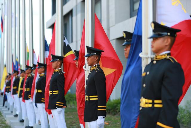 Quốc kỳ Việt Nam tung bay tại SEA Games 30 - Philippines 2019 - Ảnh 4.