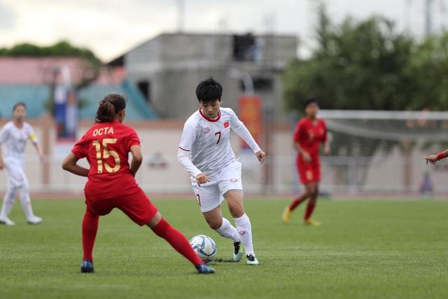 SEA Games 30: Thắng đậm Indonesia, tuyển nữ Việt Nam vào bán kết - Ảnh 2.