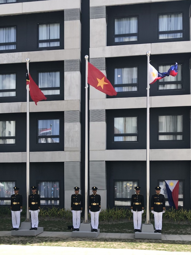 Quốc kỳ Việt Nam tung bay tại SEA Games 30 - Philippines 2019 - Ảnh 7.