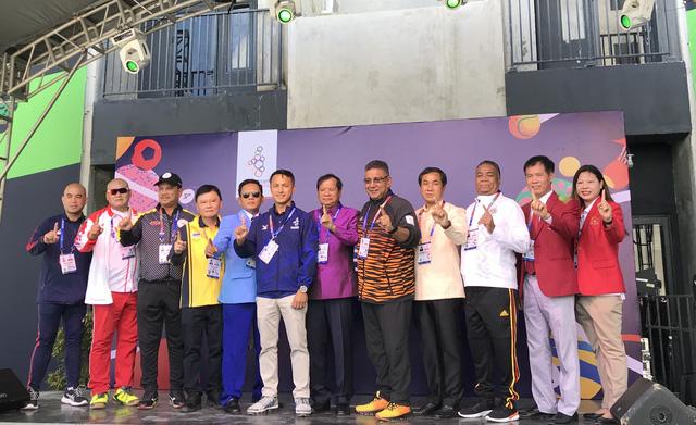 Quốc kỳ Việt Nam tung bay tại SEA Games 30 - Philippines 2019 - Ảnh 8.