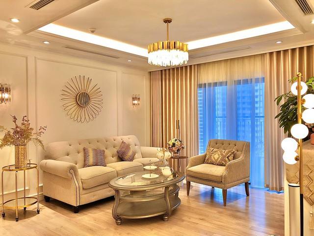 Ngắm căn hộ ấm cúng, ngập tràn sắc vàng của BTV Diệp Chi - Ảnh 1.