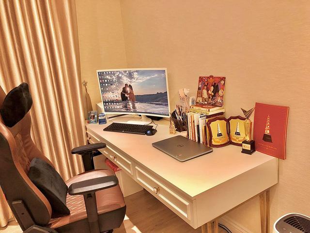 Ngắm căn hộ ấm cúng, ngập tràn sắc vàng của BTV Diệp Chi - Ảnh 7.