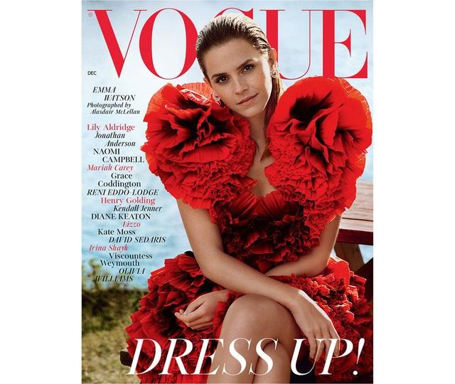 Emma Watson xinh như một đóa hoa - Ảnh 1.