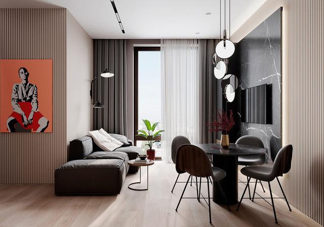 Căn hộ 2 phòng ngủ sử dụng nội thất sang trọng - Ảnh 1.