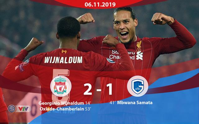 Kết quả UEFA Champions League rạng sáng 6/11: Chelsea 4-4 Ajax, Liverpool 2-1 Genk, Barcelona 0-0 Slavia Praha, Dortmund 3-2 Inter Milan - Ảnh 2.