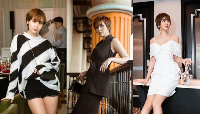 Loạt nữ diễn viên Việt đổi phong cách với tóc ngắn cá tính - Ảnh 3.